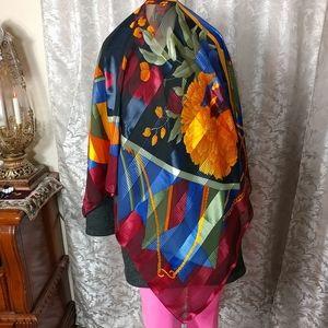 Designer Polyester Large Scarf